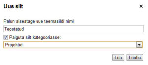 Gmaili uus silt