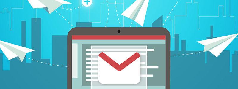 Gmailis kirjade saatmine ja vastuvõtmine