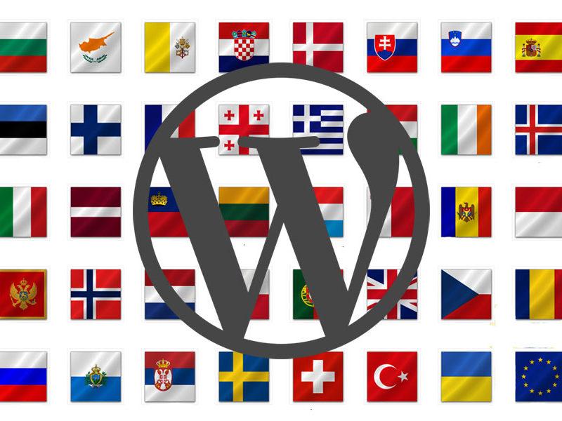 WordPressi logo lippudega