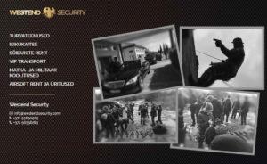 Westend Security lihtne veebileht