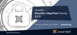 Joomla! 3.7.3 turvauuendus
