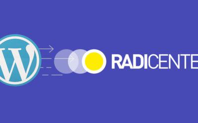 WordPressi paigaldamine Radicenter veebimajutuses