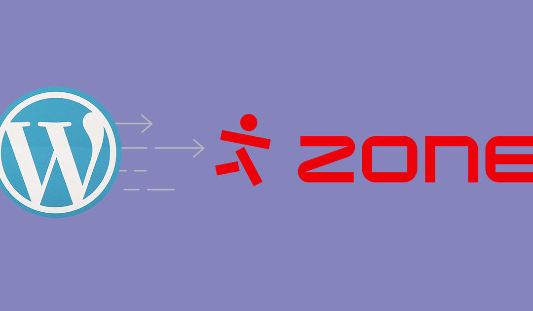 WordPressi paigaldamine Zone+ keskkonnas