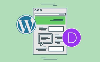 Veebilehe valmistamine ja Divi teema paigaldamine